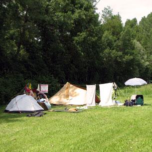 Naturistencamping La Sesquiere Frankrijk