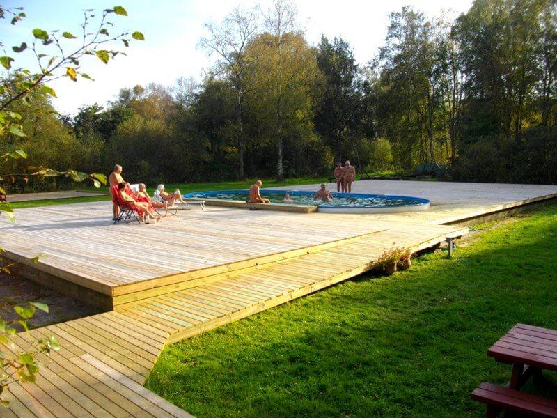 Sauna en zwembaden | Naturistencamping Flevo-Natuur