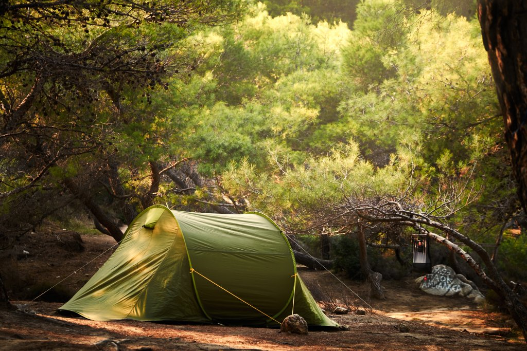 BlootKompas! Naturistencamping - tent