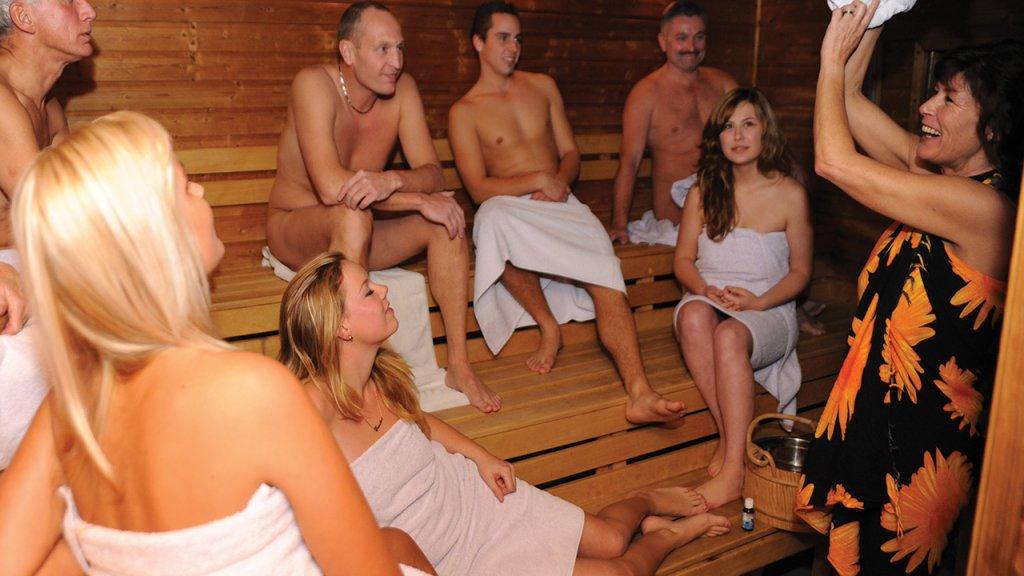 Sauna Aquavia in Axel Zeeland
