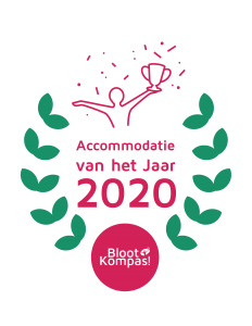 BlootKompas! Accommodaties van het jaar 2020
