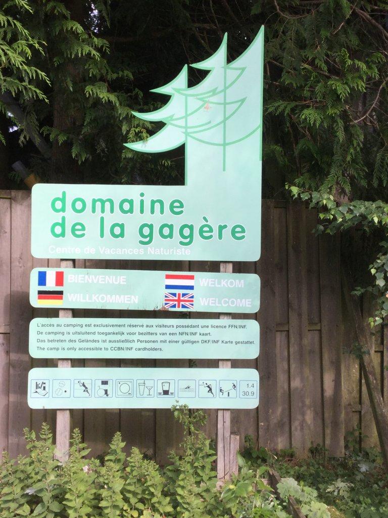 Naturistencamping La Gagère BlootKompas!