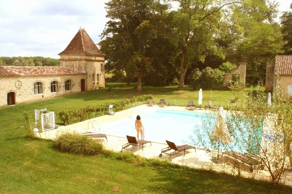 Naturistencamping Chateau Guiton