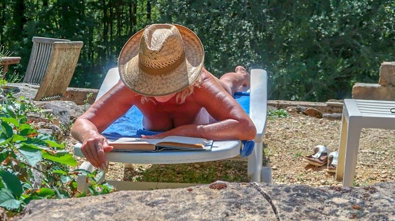 Naturistische accommodatie Le Soleil Dordogne
