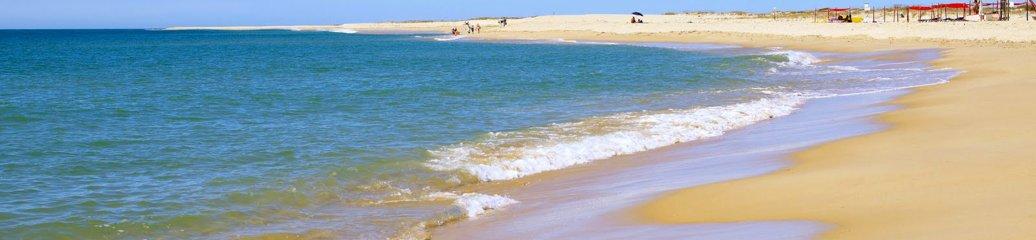 Naaktstrand Ilha Deserta, Faro, Portugal