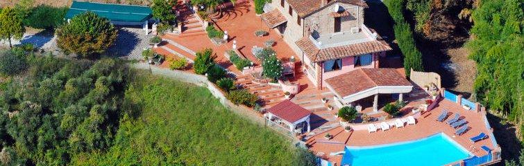 Vakantiehuis voor naturisten La Chiazza in Toscane, Italië