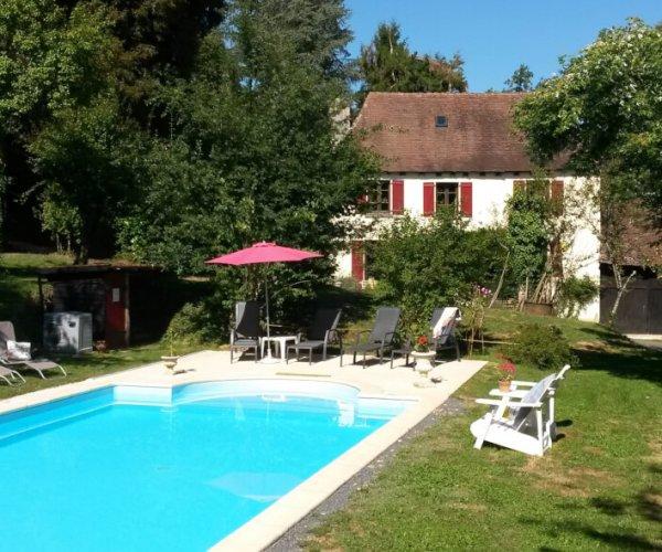 Moulin de Lassier vakantiehuis voor naturisten Frankrijk